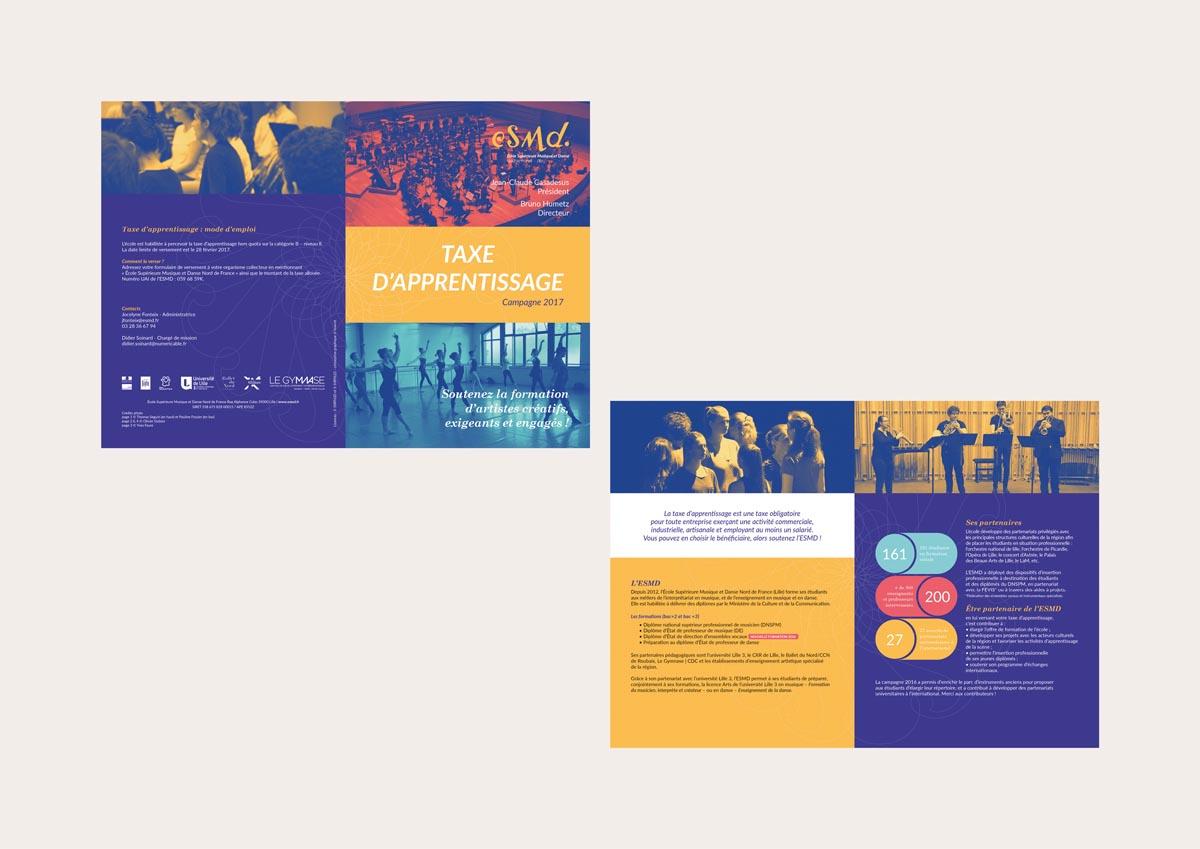 taxe d'apprentissage (4 pages – 14,5 x 21 cm – 2016)