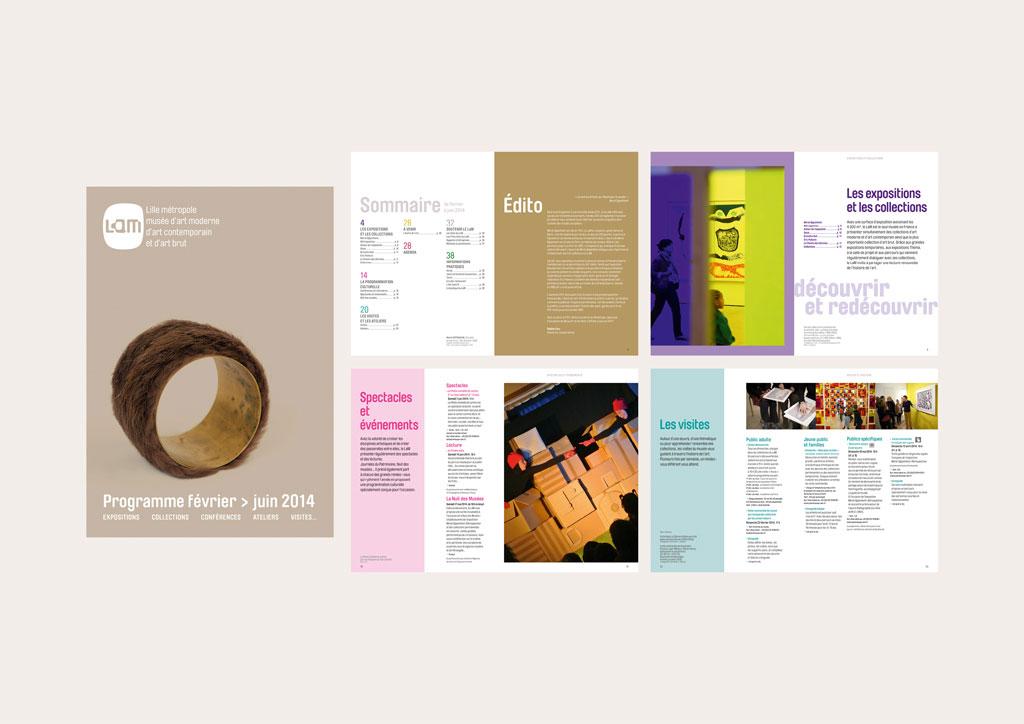 brochure programme (40 pages – 15 x 21 cm – 2014)