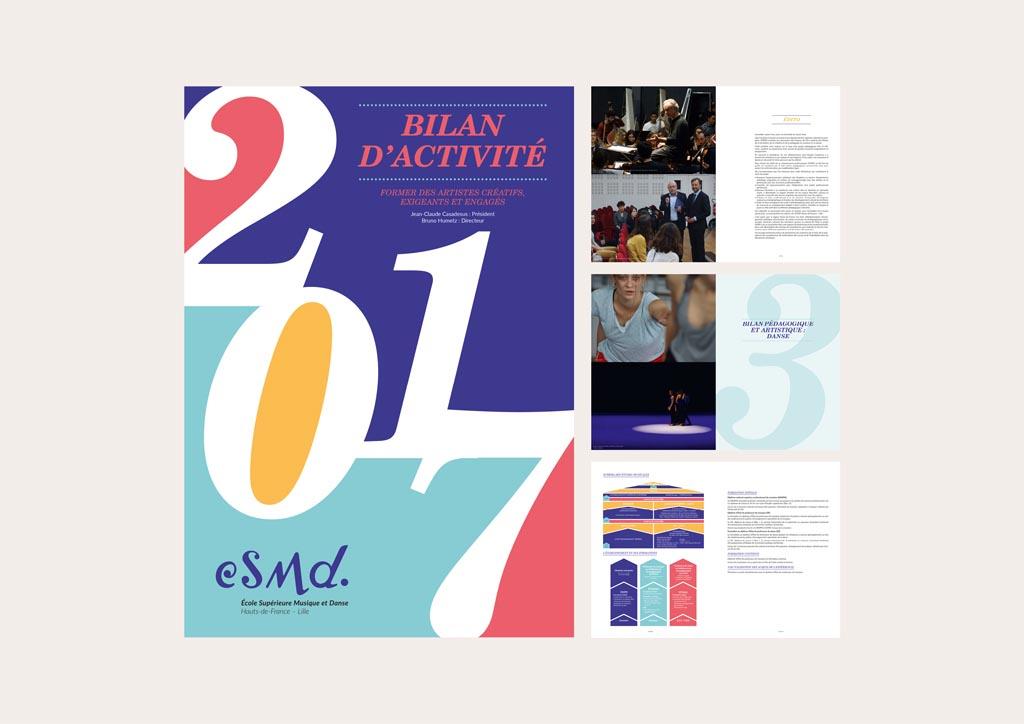 bilan d'activités (126 pages – 21 x 29,7 cm – 2016)
