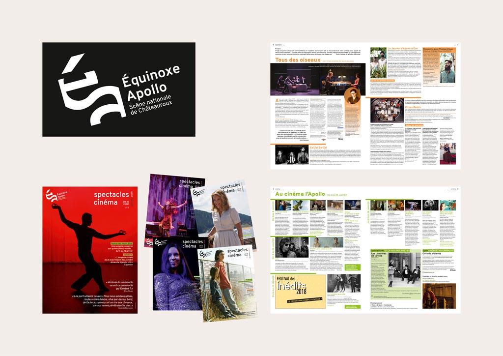 Nouvelle identité et nouveau journal mensuel (8 pages – 27 x 36 cm – septembre 2018-janvier 2019)